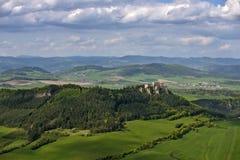 Lietava城堡 免版税图库摄影