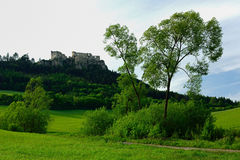Lietava Castle, Slovakia Royalty Free Stock Photos