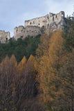 Lietava ruins Stock Images