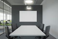 Lieu de réunion moderne avec le panneau d'affichage Photos libres de droits