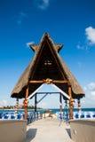 Lieu de rendez-vous de cérémonie de mariage de destination Image libre de droits