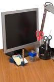 Lieu de travail à office-1. Images stock