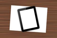 Lieu de travail avec le Tableau de Digital Photographie stock