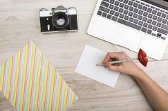 Lieu de travail créatif Photos libres de droits