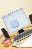 Lieu de travail dans le bureau Photo libre de droits