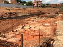 Lieu de travail São Paulo, Fundation de construction Image stock