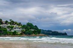 Lieu de villégiature luxueux sur la côte sud Photo stock