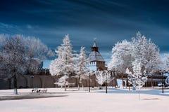 Lieu public, Tula Kremlin Images libres de droits