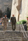 Lieutenant-Colonel en Onderluitenant Royalty-vrije Stock Foto