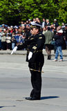 Lieutenant commander M. Trifonov Royalty Free Stock Image