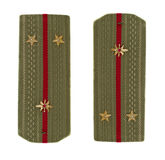 Lieutenant shoulder strap Stock Image