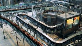 Lieux d'unité de transport d'une usine de brasserie clips vidéos