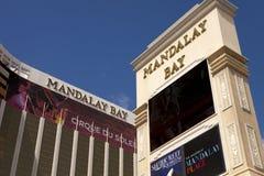 Lieux de villégiature luxueux de casino et d'hôtel de baie de Mandalay à Las Vegas Photographie stock libre de droits