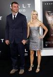 Liev Schreiber und Naomi Watts lizenzfreies stockbild
