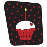 Lieveheersbeestje Cupcake Royalty-vrije Stock Afbeeldingen