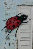 Lieveheersbeestjegraffiti Stock Afbeelding