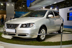 Lifan 620. At the Moscow International Automobile Salon (MIAS-2008) August 27 - September 7. Photo taken on: September 02th, 2008 Royalty Free Stock Photography