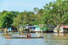 Life on the Amazon River Stock Image