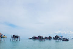 Life Of Bajau Stock Photo