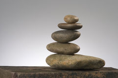 Life in balance. Balancing river rocks Stock Images