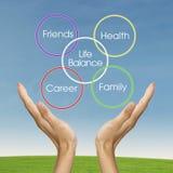 Life balance concept Stock Image