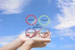 Life balance stock image