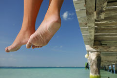 Life is a Beach (Legs) Stock Images