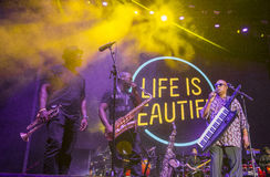 Life Is Beautiful Festival Royalty Free Stock Photos
