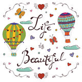 Life is  beautiful Royalty Free Stock Photography