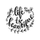 Life is Beautiful Stock Images