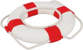 Life Belt. Buoy Life Protection Isolated White Background Nautical Vessel stock photos
