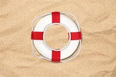 Life belt. Buoy life protection isolated white background nautical vessel royalty free stock image