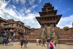 Life in Bhaktapur, Nepal Stock Photos