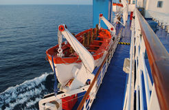 Life boat Stock Image