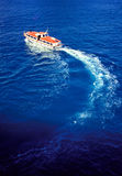 Life boat. From a cruise ship Royalty Free Stock Photography