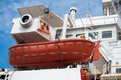 Free Life Boat At The Cruise Ship Stock Image - 17939821