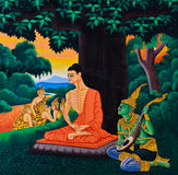 The Life of Buddha image Royalty Free Stock Photography