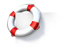 Life buoy. 3d rendered illustration Royalty Free Stock Images