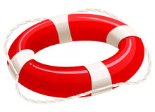 Life buoy. Cartoon illustration Stock Illustration