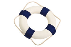 Life buoy. On the white Stock Photography