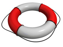 Life buoy 3d Stock Photos