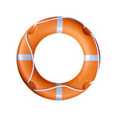 Life Buoy. Regular orange safety life buoy Stock Photos