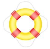 Life buoy. On white background Stock Images