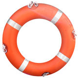 Life buoy. Isolated over a white background Royalty Free Stock Photo