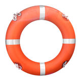 Life buoy. Isolated over a white background Stock Photography