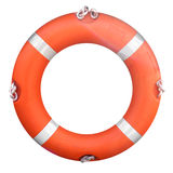 Life buoy. Isolated over a white background Royalty Free Stock Photography