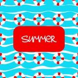 Life buoy background Stock Photography