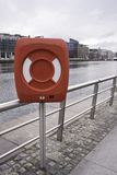 Life buoy cabinet Royalty Free Stock Image