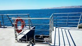 Life Buoy on Cruise Ship Stock Image