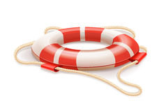 Life buoy for drowning rescue Royalty Free Stock Photos